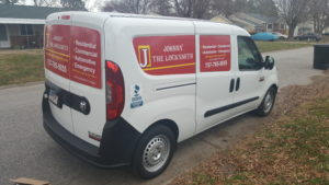 our locksmith van